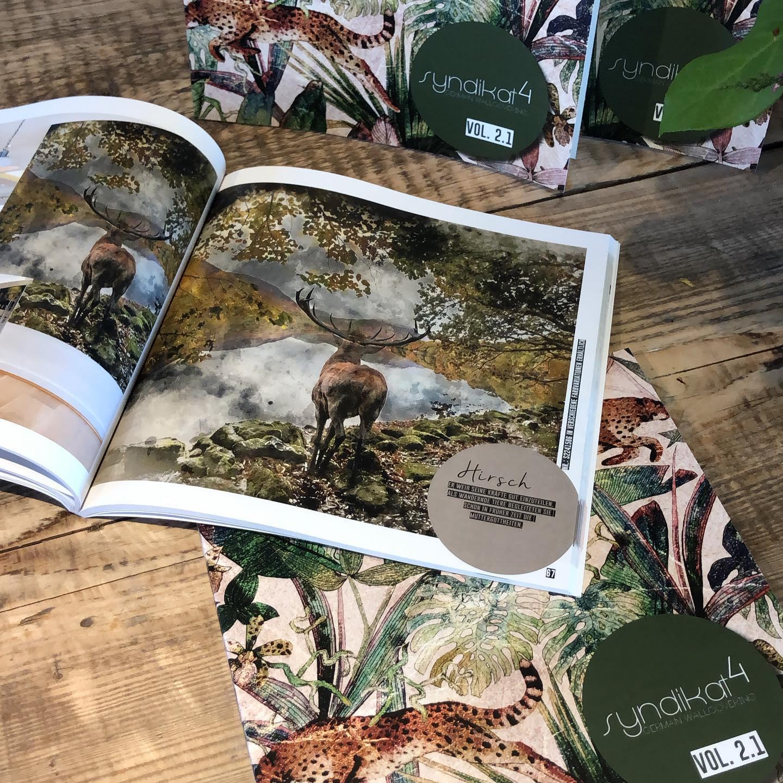Tapeten Musterbuch Katalog Oktober 2019