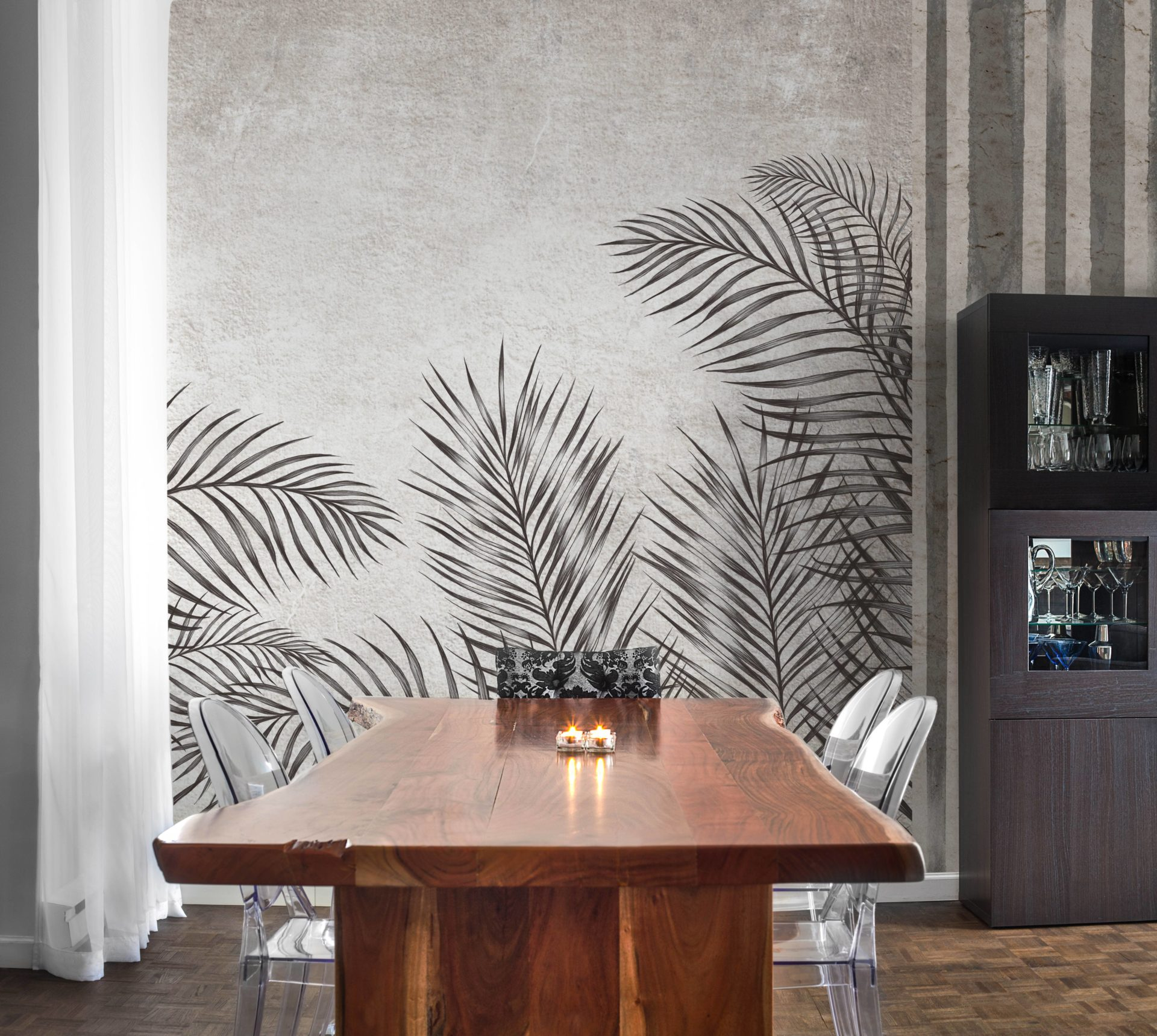 Palm - Tapeten Muster Design Wallcovering