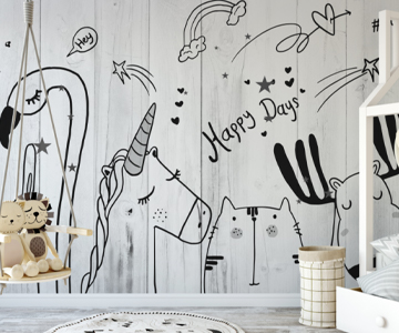 tapeten kinder happy days syndikat4 german wallcovering